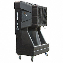 Prtbl Evaporative Cooler, 1/3 HP