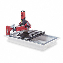 Tile Saw, Wet Cutting, Elctrc, 7 In. Blade
