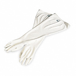 Seamless Dry Box Glove, 15 mil, White, PR