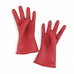 Electrical Gloves, Red, Size 9, 11 In. L, PR