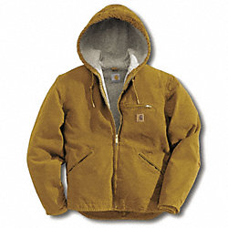 Jacket, Insulated, Brown, L