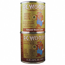 Epoxy, Wood Filler, Tan, 48 Oz. Can