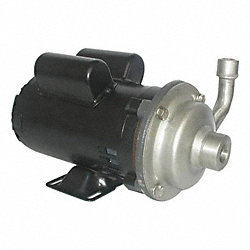 Pump, 1/3 HP, 115/230V, 6.8/3.4 Amp
