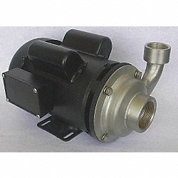 Pump, 1 1/2 HP, 115/230V, 2 Amp