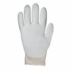 Cut Resistant Gloves, White, M, PR