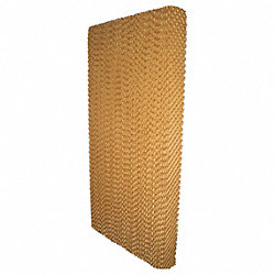 Evaporative Cooling Pad, 12x6x48 in., PK 5