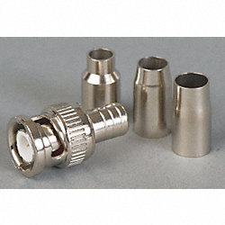 Coaxial Connector, BNC, 0-4GHz, 50 Ohm, PK10