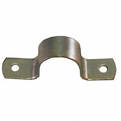 HD Pipe Strap, 304SS, 1 In, 4 3/4 In L