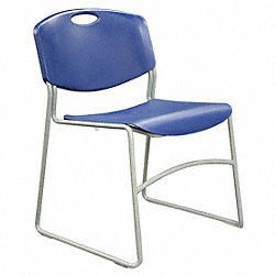Chair, Stackable, Blue