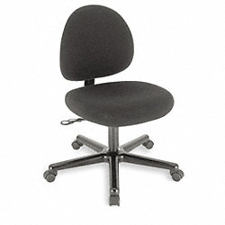Chair, Desk, Black, 19 1/2Wx19 1/2D