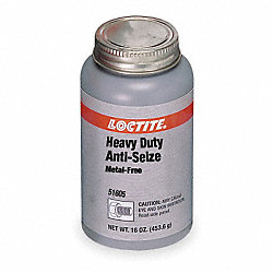 Anti Seize Compound, Metal-Free, 9-Oz. Can