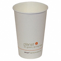 Hot Cup, Biodegradable, 16 oz, PK500