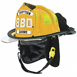 Fire Helmet, Yellow, Traditional