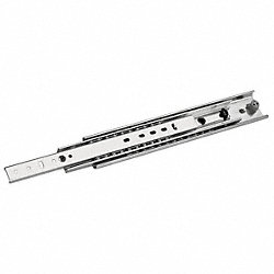 Drawer Slide, Side Mount, Steel, 20, PK 2
