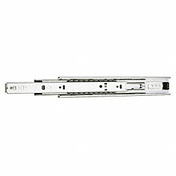 Drawer Slide, Side Mount, Steel, 12, PK 2