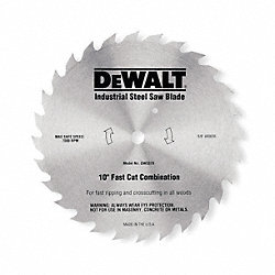 Circular Saw Bld, Steel, 10 In, 80 Teeth