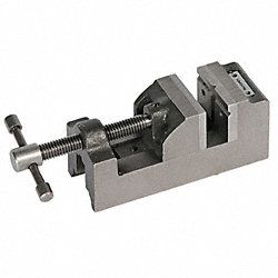 Drill Press Vise, 4 In W, Open 4 In