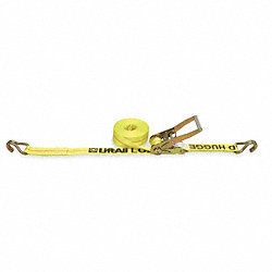 Cargo Strap, Ratchet, 27ft x 2 In, 3300 lb.
