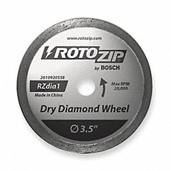 Dry Diamond Blade, Sintered Diamond
