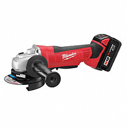 Cordless RA Grinder Kit, 18V, 4-1/2 In.