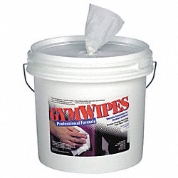 Gym Equipment Wipes, 8 x 7 In
