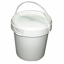 Wiper Bucket Dispenser, White