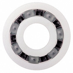 Polymer Ball Bearing, 3 mm, Stainless