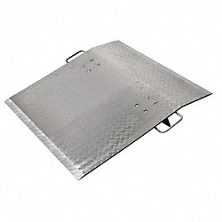 Dock Plate, Alum, 2900Lb, 48x60In