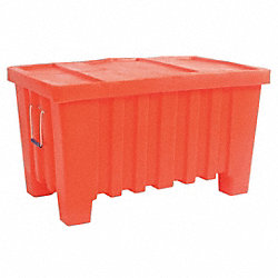 Stacking and Nesting Container, HD, Orange