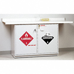 Combination Safety Cabinet, Under Counter