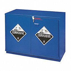 Corrosive Safety Cabinet, 35-1/2 In. H