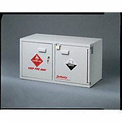 Combination Safety Cabinet, Bench