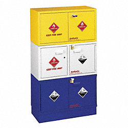Corrosive Safety Cabinet, 17 In. H