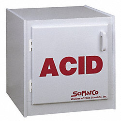 Acid Safety Cabinet, 16 In. H, 16 In. W