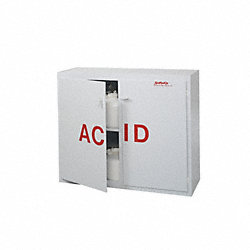 Acid Safety Cabinet, 40 In. H, 48 In. W
