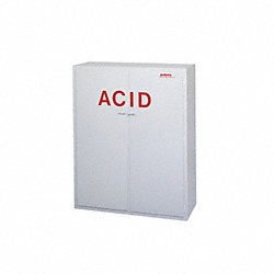 Acid Safety Cabinet, 60 In. H, 48 In. W