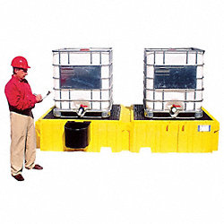 Twin IBC Containment Unit, 61-5/8 In. W