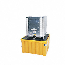 IBC Containment Unit, 33 In. H, Yellow