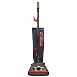 Commercial Upright Vacuum, 12In, 8.5A, 120V