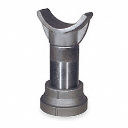 Pipe Saddle Support, Cast Iron, 4 In