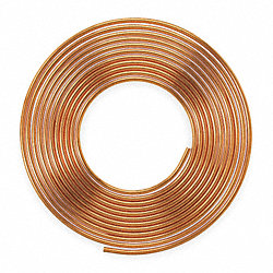 Type K, Soft coil, Water, 1 In.X 60ft.