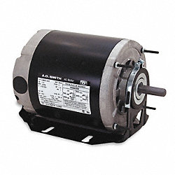 Mtr, 3 Ph, 1 HP, 1725, 200-230/460V, Eff 75.0