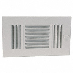 Sidewall/Ceiling Register, 3-Way