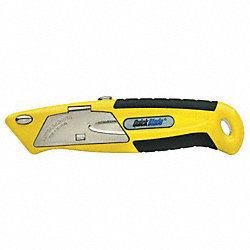Autoloading Utility Knife, Yellow