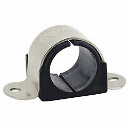 2 Hole Cushion Clamp Pipe Size 1-1/2 In