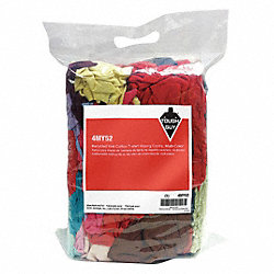 Cloth Rag, Rcycld Cottn T-shirt, 4 lb.Bag