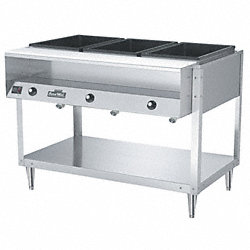 Food Table, Hot, 4 Full Pans, H 61 1/4