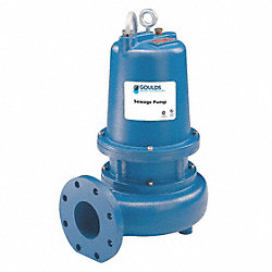 Sewage Pump, 2 HP, 3PH, 200V