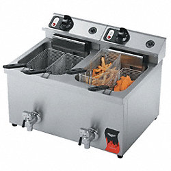 Electric Counter Top Fryer, 23 x 21