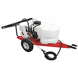 Trailer Sprayer, 25 Gal, 2.1 GPM